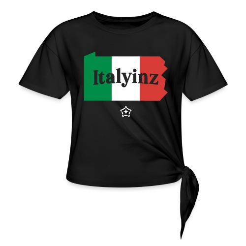 Italyinz_ - Women's Knotted T-Shirt