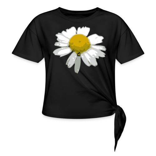 Daisy - Women's Knotted T-Shirt
