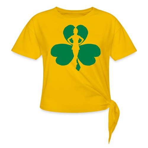 ceili dancer - Women's Knotted T-Shirt