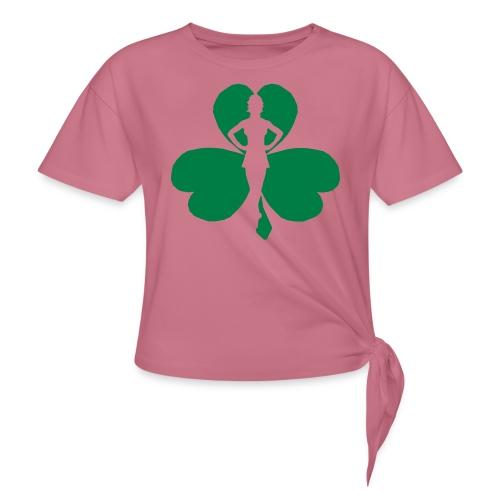 ceili dancer - Women's Knotted T-Shirt