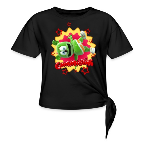 Gummibär Starburst - Women's Knotted T-Shirt