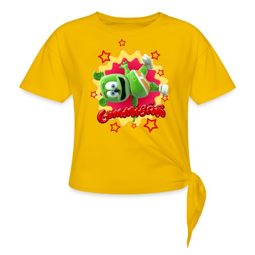 Gummibär Starburst - Women's Knotted T-Shirt