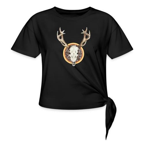 Death Dearest - Women's Knotted T-Shirt