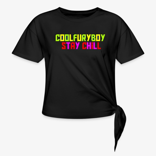 CoolFuryBoy - Women's Knotted T-Shirt