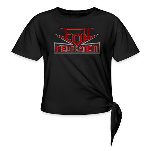 EoWFederation - Women's Knotted T-Shirt