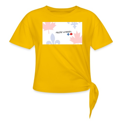 Logo do Canal - Women's Knotted T-Shirt