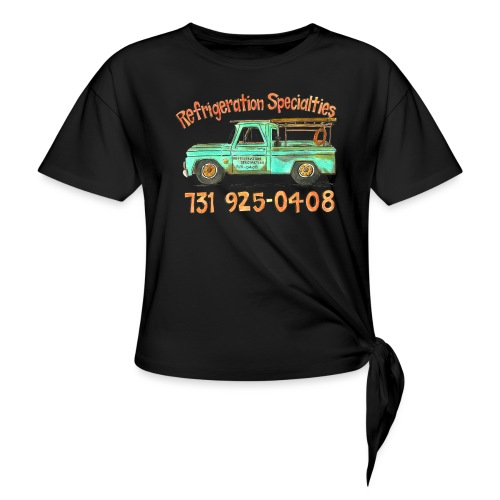 Refrigeration Specialties - Women's Knotted T-Shirt