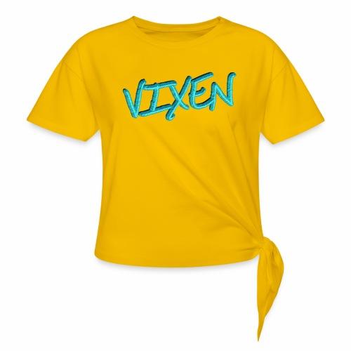 Vixen - Women's Knotted T-Shirt