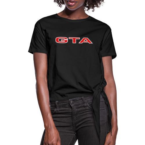 Alfa 155 GTA - Women's Knotted T-Shirt