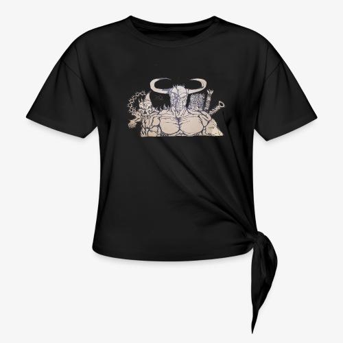 bdealers69 art - Women's Knotted T-Shirt
