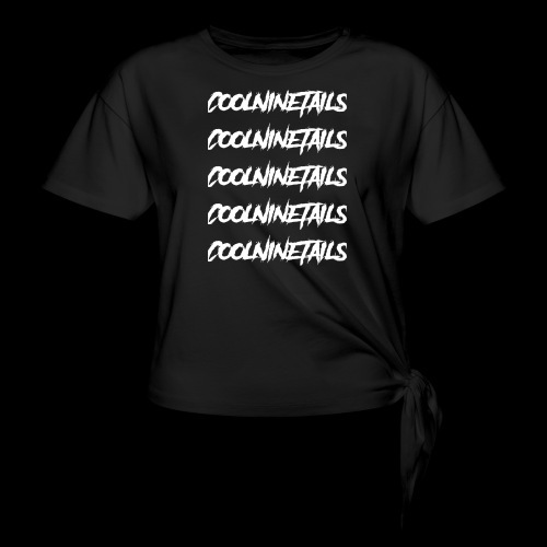 Multi Name - Women's Knotted T-Shirt