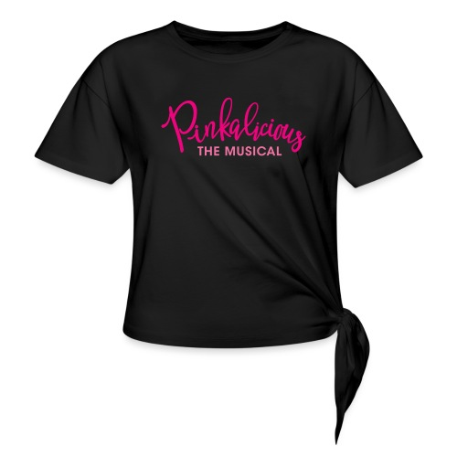 Pinkalicious - Women's Knotted T-Shirt