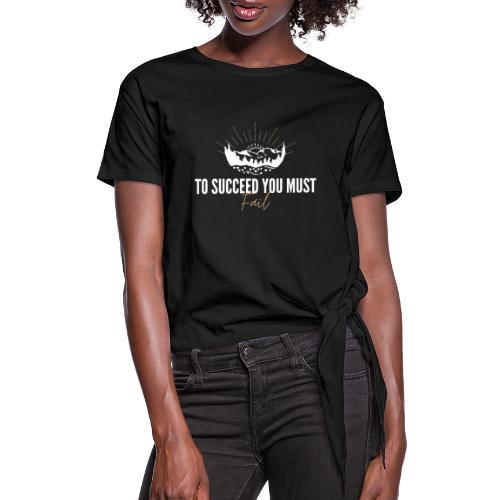 TSUMF (MERCH) - Women's Knotted T-Shirt
