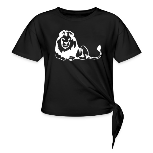 lions - Women's Knotted T-Shirt