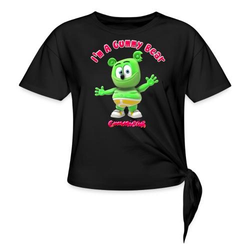 I'm A Gummy Bear - Women's Knotted T-Shirt