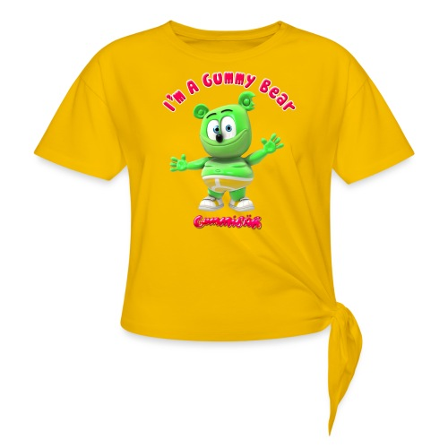 I'm A Gummy Bear - Women's Knotted T-Shirt