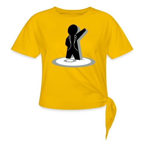 Not A Number - Women's Knotted T-Shirt