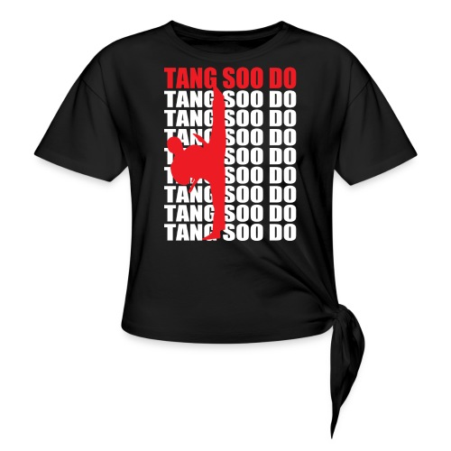 Tang Soo Do - Women's Knotted T-Shirt