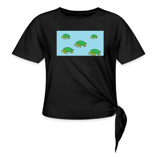hib2 png - Women's Knotted T-Shirt