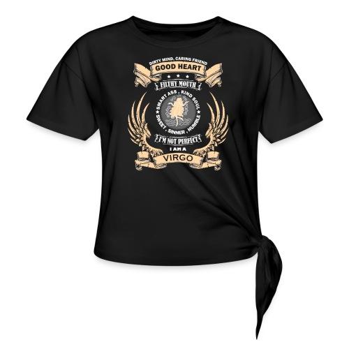 Zodiac Sign - Virgo - Women's Knotted T-Shirt