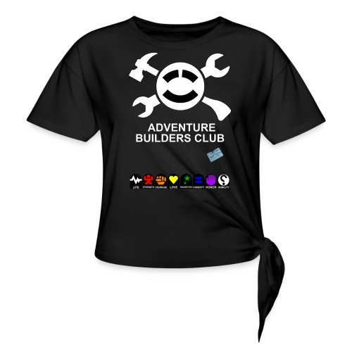 Adventure Builders Club - Women's Knotted T-Shirt