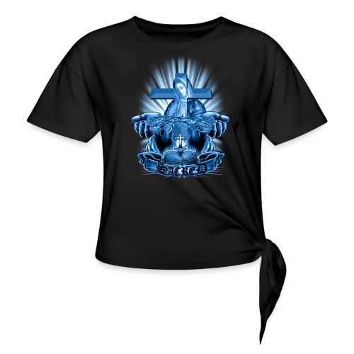 Sacred by RollinLow - Women's Knotted T-Shirt