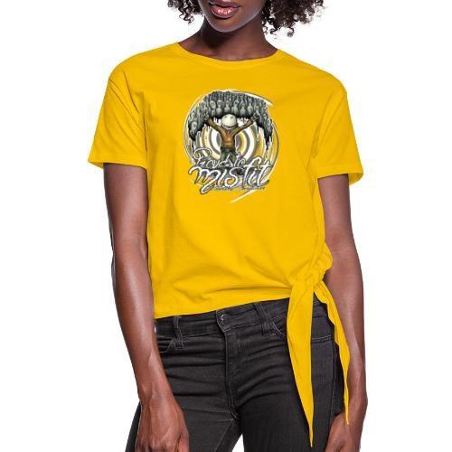 proud to misfit - Women's Knotted T-Shirt