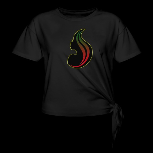 RBGgirl - Women's Knotted T-Shirt