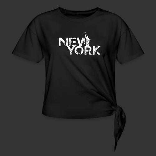New York (Flexi Print) - Women's Knotted T-Shirt