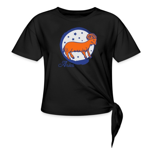 Aries - Women's Knotted T-Shirt