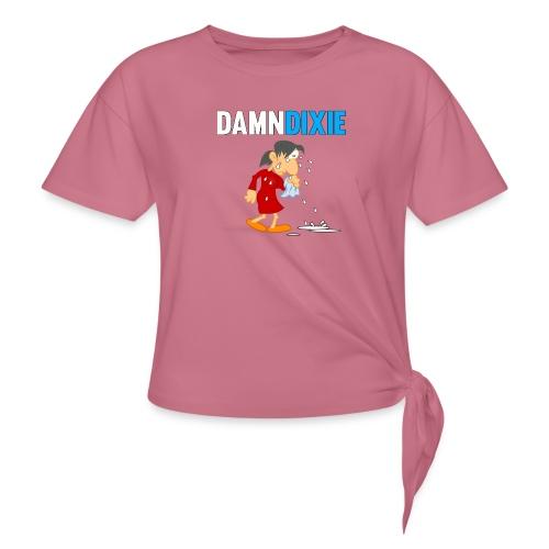 Damn Dixie - Women's Knotted T-Shirt