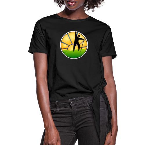 Success - Women's Knotted T-Shirt