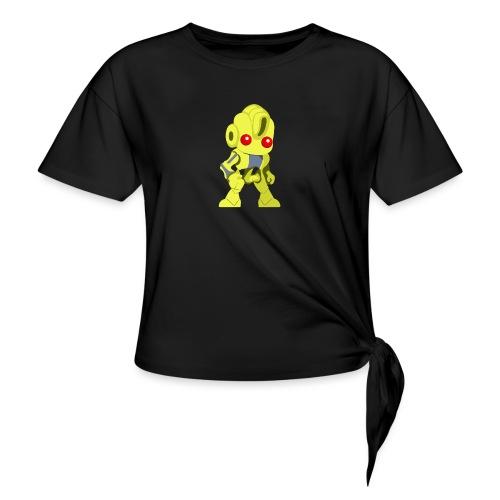 Ex17 Moringa - Women's Knotted T-Shirt