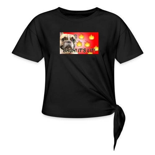 IMG 1465 - Women's Knotted T-Shirt