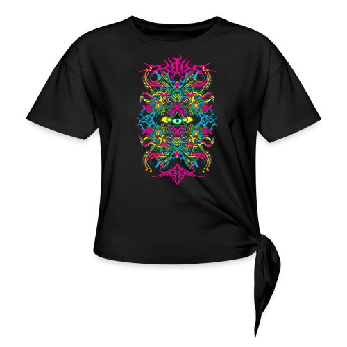 E.V. II - Color Edition - Women's Knotted T-Shirt