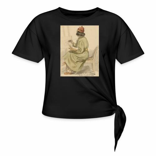 rs portrait sp 02 - Women's Knotted T-Shirt