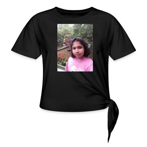 Tanisha - Women's Knotted T-Shirt