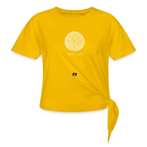 Since 1428 Aztec Design! - Women's Knotted T-Shirt