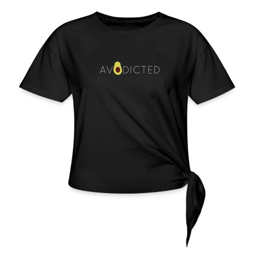 Avodicted - Women's Knotted T-Shirt