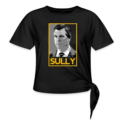 Sully - Women's Knotted T-Shirt
