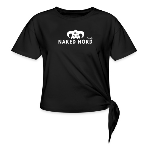 The Naked Nord Society - Women's Knotted T-Shirt