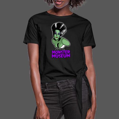 Bride Logo - Women's Knotted T-Shirt