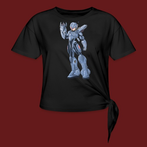 megaman X Armor png - Women's Knotted T-Shirt
