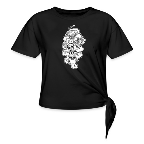TOXIC WASTE - Women's Knotted T-Shirt