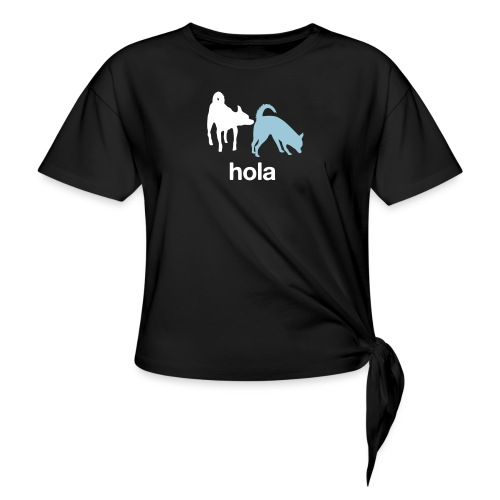 Hola - Women's Knotted T-Shirt