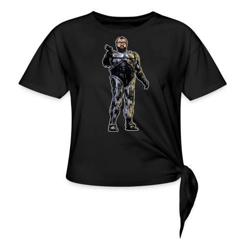 JorgeCop - Women's Knotted T-Shirt