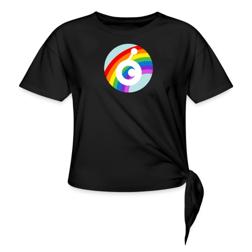 rainbow OST - Women's Knotted T-Shirt