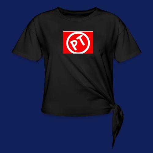 Enblem - Women's Knotted T-Shirt