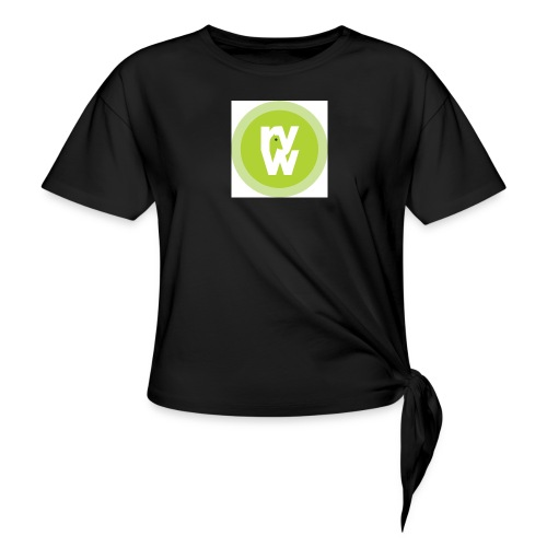Recover Your Warrior Merch! Walk the talk! - Women's Knotted T-Shirt
