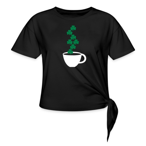 irishcoffee - Women's Knotted T-Shirt